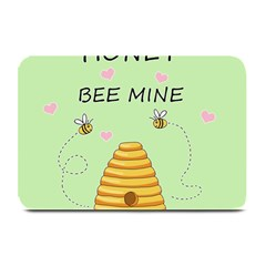 Bee Mine Valentines Day Plate Mats by Valentinaart