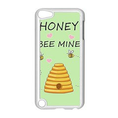 Bee Mine Valentines Day Apple Ipod Touch 5 Case (white) by Valentinaart