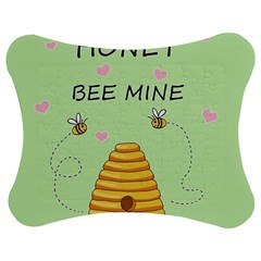 Bee Mine Valentines Day Jigsaw Puzzle Photo Stand (bow)