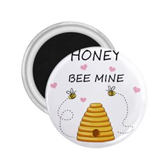 Bee Mine Valentines Day 2 25  Magnets by Valentinaart
