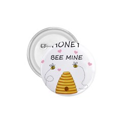 Bee Mine Valentines Day 1 75  Buttons by Valentinaart