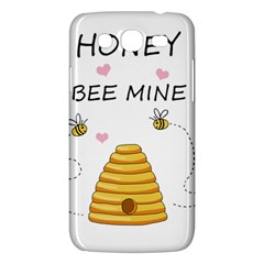 Bee Mine Valentines Day Samsung Galaxy Mega 5 8 I9152 Hardshell Case  by Valentinaart