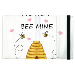 Bee Mine Valentines Day Apple Ipad Pro 12 9   Flip Case