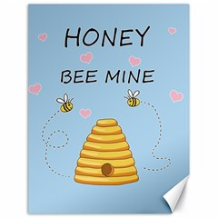 Bee Mine Valentines Day Canvas 18  X 24   by Valentinaart