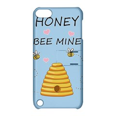 Bee Mine Valentines Day Apple Ipod Touch 5 Hardshell Case With Stand by Valentinaart