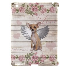 Vintage Chihuahua   Valentines Day Apple Ipad 3/4 Hardshell Case (compatible With Smart Cover) by Valentinaart