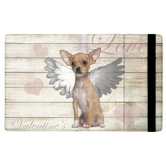 Vintage Chihuahua   Valentines Day Apple Ipad 2 Flip Case by Valentinaart