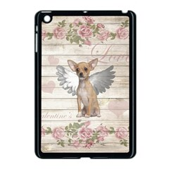 Vintage Chihuahua   Valentines Day Apple Ipad Mini Case (black)