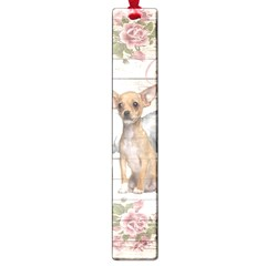 Vintage Chihuahua   Valentines Day Large Book Marks