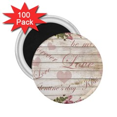Vintage Chihuahua   Valentines Day 2 25  Magnets (100 Pack)