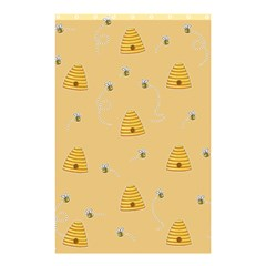 Bee Pattern Shower Curtain 48  X 72  (small)