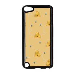 Bee Pattern Apple Ipod Touch 5 Case (black)