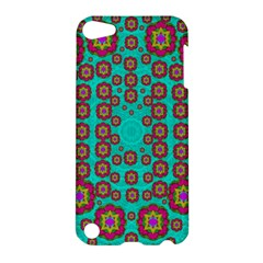 The Worlds Most Beautiful Flower Shower On The Sky Apple Ipod Touch 5 Hardshell Case by pepitasart