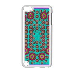 The Worlds Most Beautiful Flower Shower On The Sky Apple Ipod Touch 5 Case (white) by pepitasart