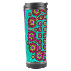 The Worlds Most Beautiful Flower Shower On The Sky Travel Tumbler by pepitasart