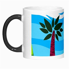 Landscape Background Nature Sky Morph Mugs