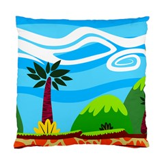 Landscape Background Nature Sky Standard Cushion Case (two Sides)
