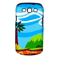 Landscape Background Nature Sky Samsung Galaxy S Iii Classic Hardshell Case (pc+silicone) by Nexatart