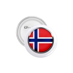 Norway Country Nation Blue Symbol 1 75  Buttons by Nexatart