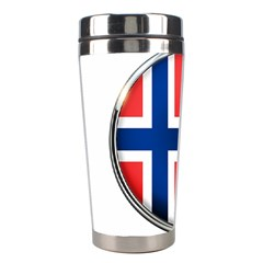 Norway Country Nation Blue Symbol Stainless Steel Travel Tumblers by Nexatart