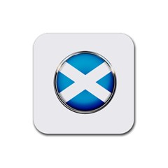 Scotland Nation Country Nationality Rubber Coaster (square)
