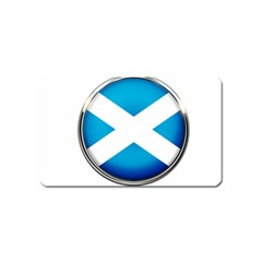 Scotland Nation Country Nationality Magnet (name Card) by Nexatart