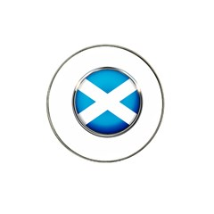 Scotland Nation Country Nationality Hat Clip Ball Marker (4 Pack)