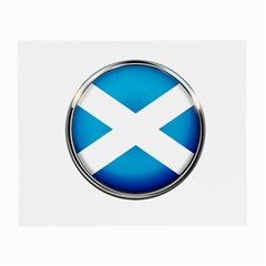 Scotland Nation Country Nationality Small Glasses Cloth by Nexatart