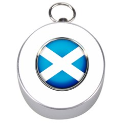 Scotland Nation Country Nationality Silver Compasses by Nexatart