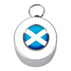 Scotland Nation Country Nationality Mini Silver Compasses by Nexatart