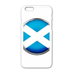 Scotland Nation Country Nationality Apple Iphone 6/6s White Enamel Case