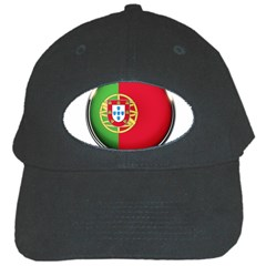Portugal Flag Country Nation Black Cap by Nexatart