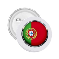 Portugal Flag Country Nation 2 25  Buttons by Nexatart