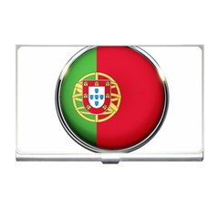 Portugal Flag Country Nation Business Card Holders by Nexatart