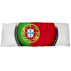 Portugal Flag Country Nation Body Pillow Case Dakimakura (two Sides) by Nexatart