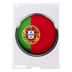 Portugal Flag Country Nation Apple Ipad 3/4 Hardshell Case (compatible With Smart Cover) by Nexatart