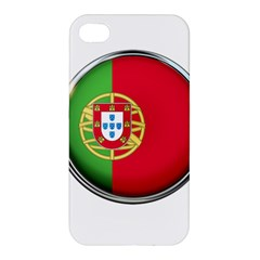 Portugal Flag Country Nation Apple Iphone 4/4s Premium Hardshell Case
