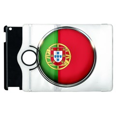 Portugal Flag Country Nation Apple Ipad 3/4 Flip 360 Case