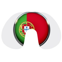 Portugal Flag Country Nation Travel Neck Pillows by Nexatart