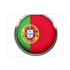 Portugal Flag Country Nation Double Sided Flano Blanket (mini)