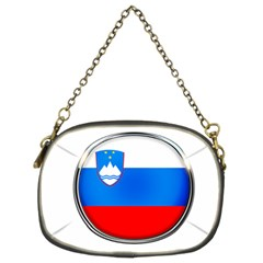 Slovenia Flag Mountains Country Chain Purses (two Sides)