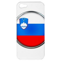 Slovenia Flag Mountains Country Apple Iphone 5 Hardshell Case