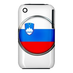 Slovenia Flag Mountains Country Iphone 3s/3gs