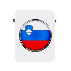 Slovenia Flag Mountains Country Apple Ipad 2/3/4 Protective Soft Cases by Nexatart