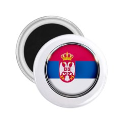 Serbia Flag Icon Europe National 2 25  Magnets by Nexatart