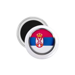 Serbia Flag Icon Europe National 1 75  Magnets