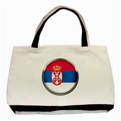 Serbia Flag Icon Europe National Basic Tote Bag by Nexatart