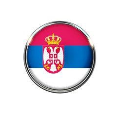 Serbia Flag Icon Europe National 5 5  X 8 5  Notebooks by Nexatart