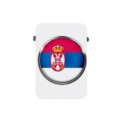 Serbia Flag Icon Europe National Apple Ipad Mini Protective Soft Cases by Nexatart