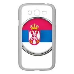 Serbia Flag Icon Europe National Samsung Galaxy Grand Duos I9082 Case (white)
